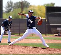 Javy Guerra / Javier Guerra - San Diego Padres 2019 extended spring training (Bill Mitchell)