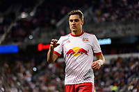 Harrison, NJ - Tuesday April 10, 2018: Aaron Long during leg two of a  CONCACAF Champions League semi-final match between the New York Red Bulls and C. D. Guadalajara at Red Bull Arena. C. D. Guadalajara defeated the New York Red Bulls 0-0 (1-0 on aggregate).