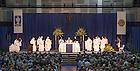 June 6, 2015; Fr. John Jenkins, C.S.C. celebrates the all-class Mass, Reunion 2015. (Photo by Matt Cashore/University of Notre Dame)