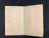 BNPS.co.uk (01202 558833)<br /> Pic: Wikipedia <br /> <br /> PICTURED: William Harrison's book of accounts. The personal archive of tragic William Harrison who was valet to Bruce Ismay, the managing director of Titanic's owners White Star Line, fetched £44,000.<br /> <br /> A walking cane with a lightbulb on one end of it that a Titanic survivor waved in a desperate attempt to attract a rescue ship has sold for £105,000.Ella White held the wooden stick aloft in the clear night sky as she stood on the deck of the stricken liner to try and signal any passing ships. But her actions blinded crew members while they set about loading passengers into lifeboats.Second officer Charles Lightoller was so annoyed by Mrs White and her cane that he ordered it to be confiscated and thrown overboard.It was the marquee lot in a sale of Titanic artefacts held by auctioneers Henry Aldridge and Son of Devizes, Wilts.