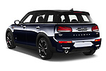 Car pictures of rear three quarter view of 2020 MINI Clubman 5 Door Wagon Angular Rear