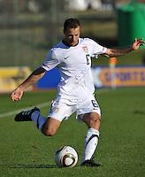 Steve Cherundolo of USA...Football - International Friendly - USA v Australia - Ruimsig Stadium