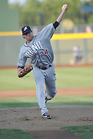 Reno Aces pitcher Tyler Skaggs (24) throws during the game against the Omaha Storm Chasers at Werner Park on August 3, 2012 in Omaha, Nebraska.(Dennis Hubbard/Four Seam Images)