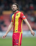 Partick Thistle v St Johnstone…28.10.17…  Firhill…  SPFL<br />Adam Barton<br />Picture by Graeme Hart. <br />Copyright Perthshire Picture Agency<br />Tel: 01738 623350  Mobile: 07990 594431