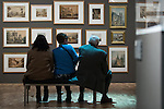 © Joel Goodman - 07973 332324 . 13/02/2015 .  Manchester , UK . Opening of the newly refurbished Whitworth Gallery on Oxford Road in Manchester , following a £15 million refurbishment and expansion . Photo credit : Joel Goodman