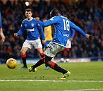 26.12.2019 Rangers v Kilmarnock: Glen Kamara hits the bar