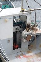 Fishing boat wheel house