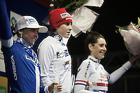 Sanne Cant (BEL/Enertherm-BKCP) wins the 2015/2016 World Cup Series<br /> 2/ Eva Lechner (ITA/Luna)<br /> 3/ Nikki Harris (GBR/Boels-Dolmans)<br /> <br /> Grand Prix Adrie van der Poel, Hoogerheide 2016<br /> UCI CX World Cup