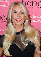 HOLLYWOOD, LOS ANGELES, CA, USA - SEPTEMBER 26: Gretchen Rossi arrives at the Benefit Cosmetics: Wing Woman Weekend Kick-Off Party held at the Benefit Tattoo Parlor on September 26, 2014 in Hollywood, Los Angeles, California, United States. (Photo by Xavier Collin/Celebrity Monitor)