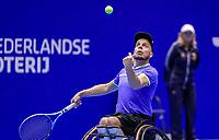 Rotterdam, Netherlands, December 12, 2017, Topsportcentrum, Ned. Loterij NK Tennis, Wheelchair, Berry Korst (NED)<br /> Photo: Tennisimages/Henk Koster