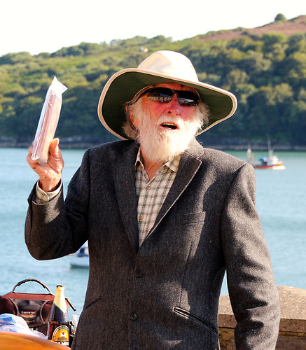 Don Street in Glandore mode – you wouldn't see him in a tweed jacket in Antigua…