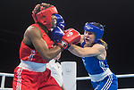 Boxing-Rosie Eccles v Aubiege Azangue