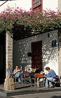 Spanien, Kanarische Inseln, La Palma, in Los Llanos de Aridane, La Pergola an der Plaza España