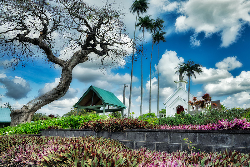 St. Augustine's Episcopal Church. Kapaau, Hawaii