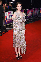 """Esme Creed-Miles<br /> arriving for the London Film Festival 2017 screening of """"Dark River"""" at the Odeon Leicester Square, London<br /> <br /> <br /> ©Ash Knotek  D3323  07/10/2017"""
