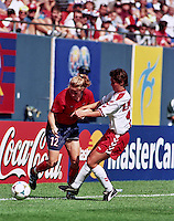 Giants Stadium, East Rutherford, New Jersey - June 19, 1999; FIFA Women's World Cup 1999. USA 3 - Denmark 0.
