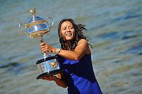 20140126 Tennis Australian Open Li Na Posato