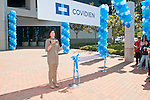 Covidien, a health care company, grand opening event for employees