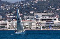 Europe/France/Provence-Alpes-Côte d'Azur/Alpes-Maritimes/Cannes:  Le Front de Mer, la Croisette et l'Hôtel Carlton   //    Europe, France, Provence-Alpes-Côte d'Azur, Alpes-Maritimes, Cannes: Cannes: The Waterfront, the Croisette and the Carlton Hotel
