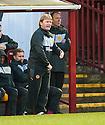 Motherwell Manager Stuart Mccall .