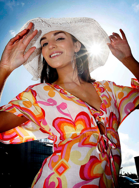 Model, Blathnaid McKenna, pictured at the launch of Marks & Spencer's new summer alfresco home collection in Dublin.