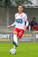 Trent Sainsbury (5) of KV Kortrijk pictured during a friendly soccer game between Sparta Petegem and KV Kortrijk during the preparations for the 2021-2022 season , on Wednesday 30th of June 2021 in Petegem , Belgium . PHOTO STIJN AUDOOREN | SPORTPIX.BE