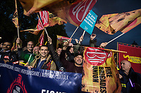 FBU at anti pay cap rally & march 17-10-17