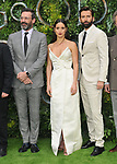 """Jon Hamm, Adria Arjona, David Tennant at the """"Good Omens"""" UK TV premiere, Odeon Luxe Leicester Square, Leicester Square, London, England, UK, on Tuesday 28th May 2019.<br /> CAP/CAN<br /> ©CAN/Capital Pictures /MediaPunch ***NORTH AND SOUTH AMERICAS ONLY***"""