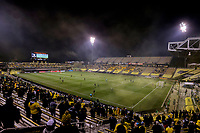 COLUMBUS, OH - DECEMBER 12: General view as Columbus Crew battles against Seattle Sounders FC during a game between Seattle Sounders FC and Columbus Crew at MAPFRE Stadium on December 12, 2020 in Columbus, Ohio.