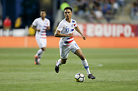 Chester, PA - Monday May 28, 2018: Antonee Robinson during an international friendly match between the men's national teams of the United States (USA) and Bolivia (BOL) at Talen Energy Stadium.