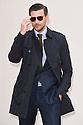 Johannes Huebl<br /> arrives for the Burberry Menswear A/W 16 fashion show, Perks Field, Hyde Park, London<br /> <br /> <br /> ©Ash Knotek  D3064 11/01/2016