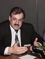 Les assises  de l'Union des Municipalitees du Quebec<br /> , du 6 au 8 mai 1999, au Palais des Congres -<br />  Mario Laframboise, president de l'UMQ<br /> <br /> <br /> PHOTO : Agence Quebec Presse