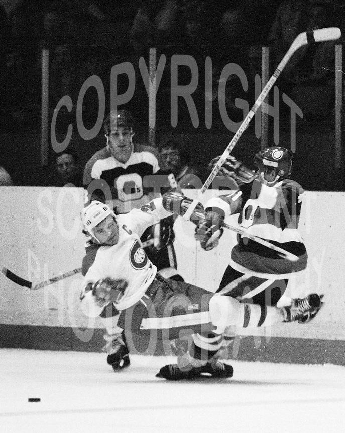 Dan Fascinato Ottawa 67's 1978. Photo Scott Grant