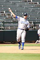 Mike Moustakas - Surprise Rafters, 2009 Arizona Fall League.Photo by:  Bill Mitchell/Four Seam Images..