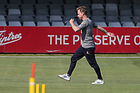 Adam Wheater of Essex warms up ahead of Essex Eagles vs Sussex Sharks, Vitality Blast T20 Cricket at The Cloudfm County Ground on 15th June 2021