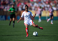Daniela Cruz.  The USWNT defeated Costa Rica, 8-0, during a friendly match at Sahlen's Stadium in Rochester, NY.