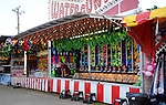 A game of chance on the midway at Cheshire Fair in Swanzey, New Hampshire USA