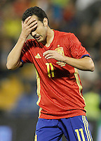 Spain's Pedro Rodriguez during international friendly match. November 13,2015.(ALTERPHOTOS/Acero)
