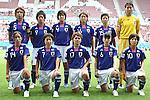 17.07.2010,  Augsburg, GER, FIFA U20 Womens Worldcup, Nigeria vs Japan,  im Bild Team Japan , Foto: nph /  Straubmeier