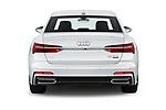 Straight rear view of 2019 Audi A6 S-Line 4 Door Sedan Rear View