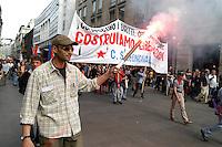 - social center Leoncavallo, demonstration for April 25, anniversary of the Italy's liberation from nazi-fascism<br /> <br /> - centro sociale Leoncavallo, manifestazione per il 25 aprile, anniversario della liberazione dell'Italia dal nazifascismo