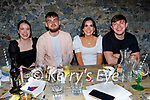 Enjoying the evening in Benners hotel on Saturday, l to r: Rosie Twomey, Ronan O'Shea, Katie Twomey and Richie Cronin.