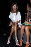 03.09.2012. Celebrities attending the TCN  fashion show during the Mercedes-Benz Fashion Week Madrid Spring/Summer 2013 at Ifema. (Alterphotos/Marta Gonzalez)