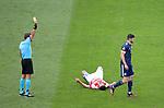 22.06.2021 Croatia v Scotland: Scott McKenna booked
