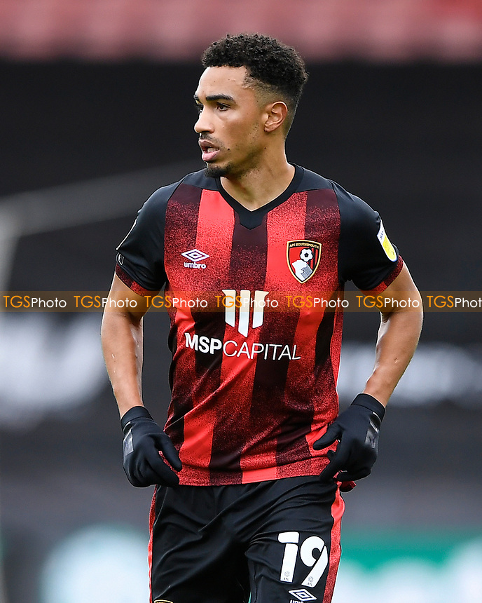 Junior Stanislas of AFC Bournemouth during AFC Bournemouth vs Reading, Sky Bet EFL Championship Football at the Vitality Stadium on 21st November 2020