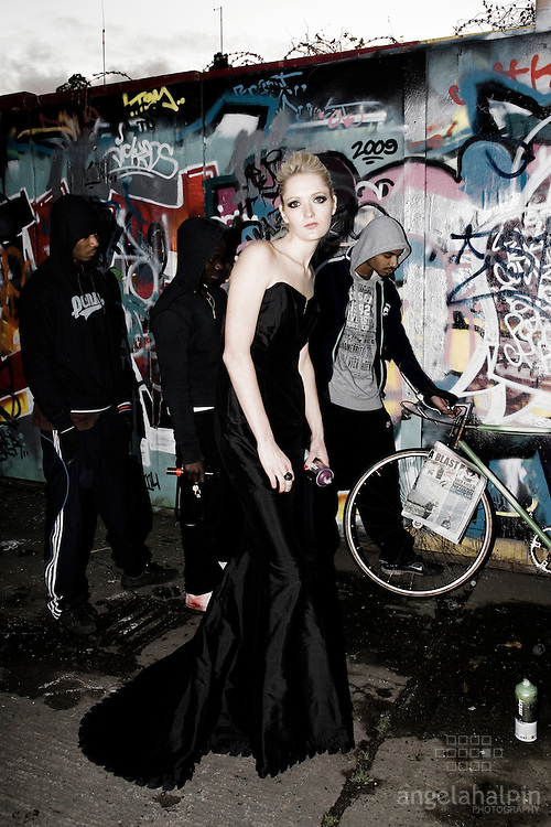 Model:lilly Harnett.Phptpgraphy:Angela Halpin.Fashion Designer: Claire O Connor.Hair & Make Up: Caroline Harnett