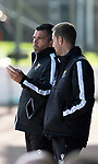 St Johnstone FC…..<br />Manager Callum Davidson pictured with first team coach Steven MacLean<br />Picture by Graeme Hart.<br />Copyright Perthshire Picture Agency<br />Tel: 01738 623350  Mobile: 07990 594431