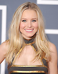 Kristen Bell at The 52nd Annual GRAMMY Awards held at The Staples Center in Los Angeles, California on January 31,2010                                                                   Copyright 2009  DVS / RockinExposures