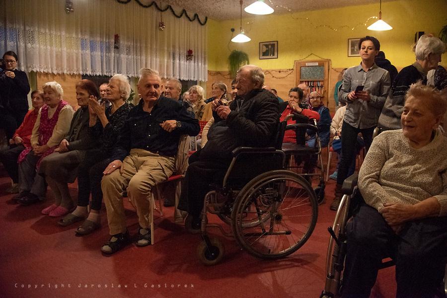 Kabaret ARABESKA, Jasełka w Domu Opieki Społecznej, Drużykowa 21.01.19