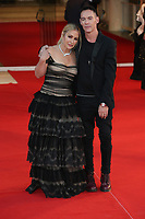 """VENICE, ITALY - SEPTEMBER 08: Anastacia and Jonathan Rhys Meyers attend the red carpet of the movie """"Freaks Out"""" during the 78th Venice International Film Festival on September 08, 2021 in Venice, Italy. (Photo by Mark Cape/Insidefoto)"""